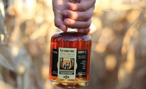 Magyar kézműves whiskey tritikáléból