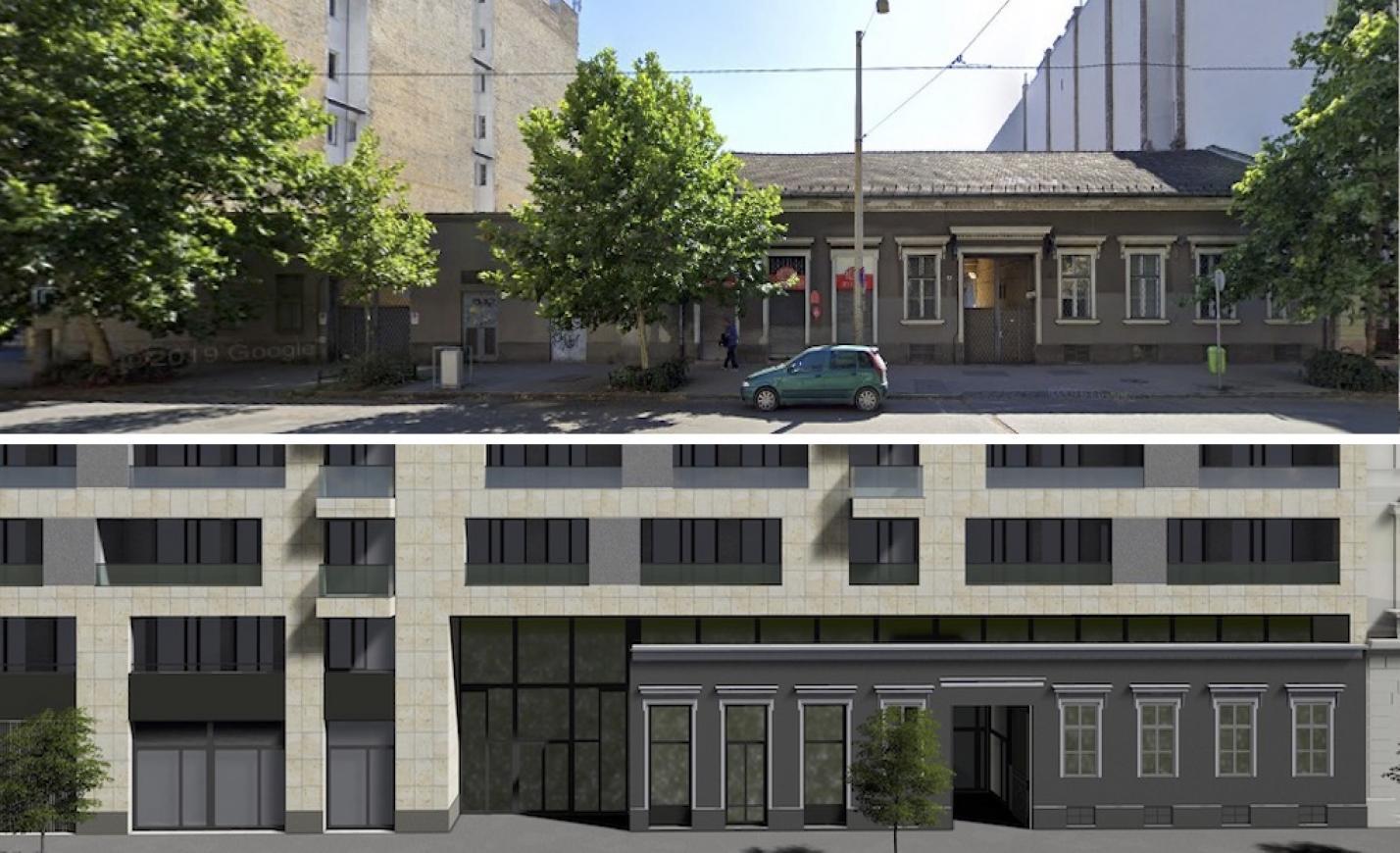 Óriási lakóház nyomja majd agyon Budapest századforduló óta működő Zsolnay-csempés húsboltját
