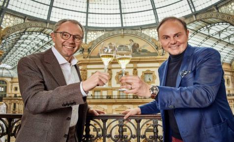 Idén már olasz pezsgőt locsol szét a Forma-1 győztese