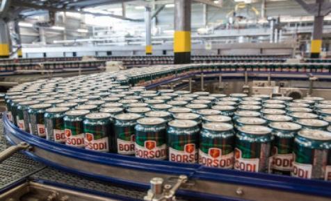 Kevesebb sört adott el,de megtartotta munkavállalóit a Borsodi Sörgyár