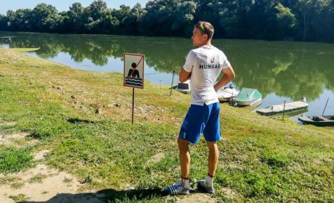 Kajak-kenu: Kopasz Bálint figyelmeztető verést kapott