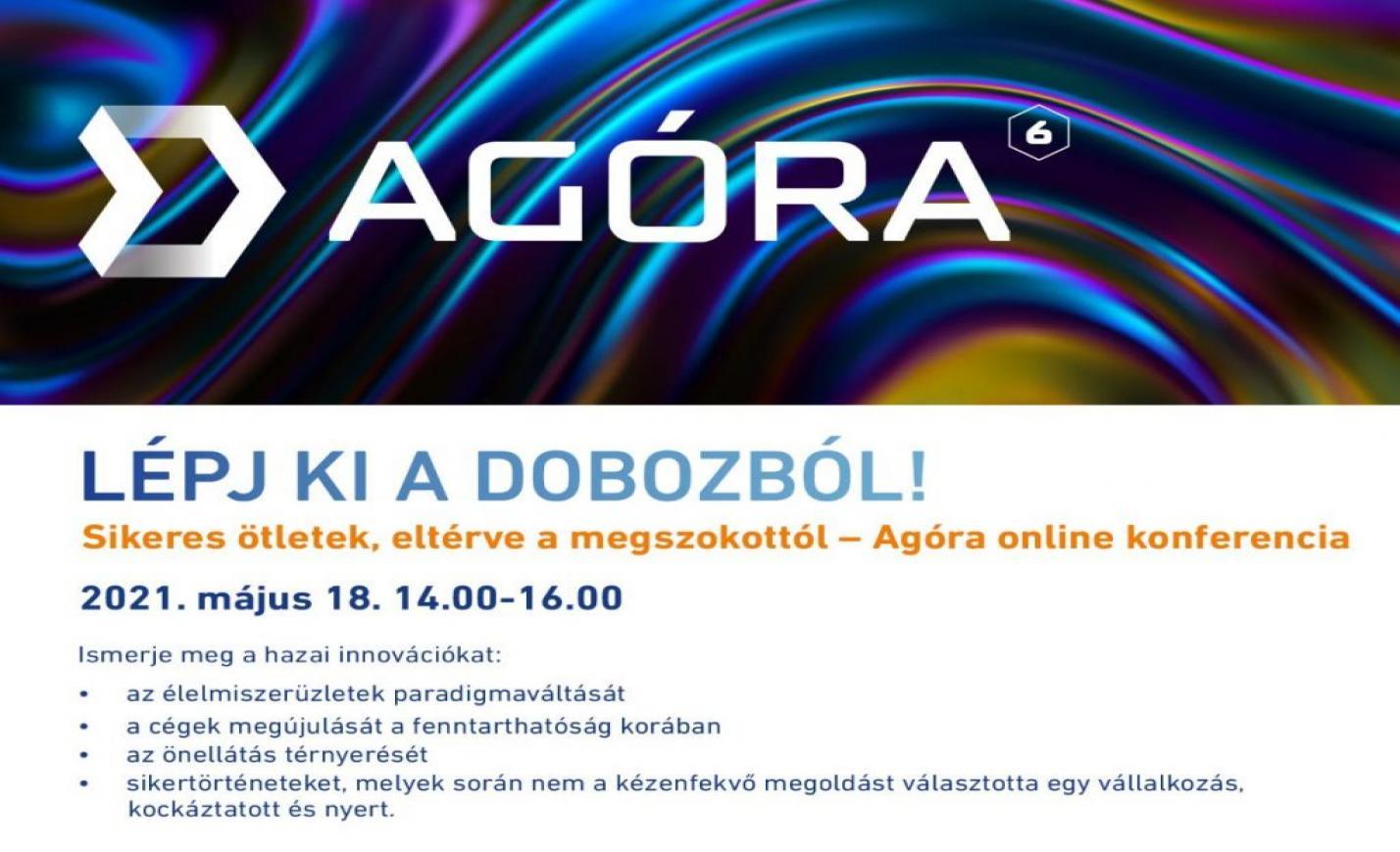 """Magyar Termék AGÓRA online konferencia: """"Lépj ki a dobozból!"""""""