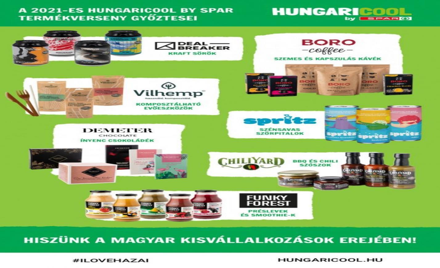 Tavasztól az INTERSPAR-ok polcain a Cápák között című üzleti showban bemutatott hazai termékek