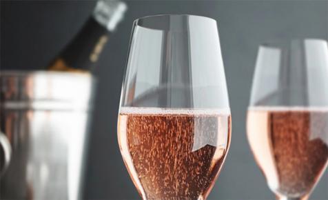 Champagne Rózsaszín Párduca