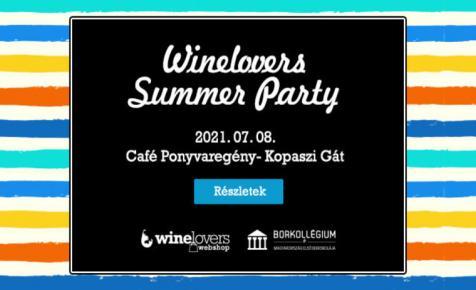 Summer Party júliusban: nem kérdés, hogy ott kell lenned!