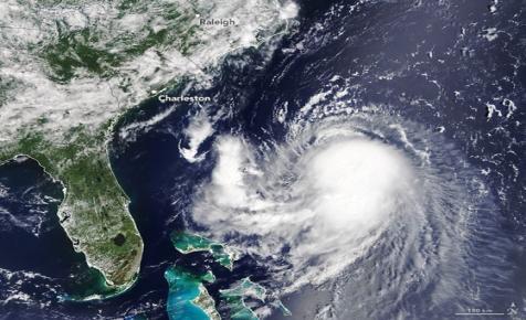 Így látják az űrállomásról a New Yorkot ostromló hurrikánt, Henrit